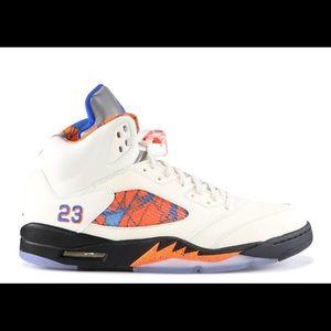 Brand New Jordan Retro 5s Orange Peel